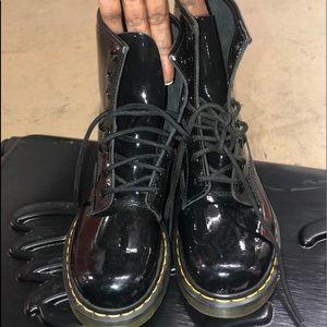 Women Dr. Marten patent leather